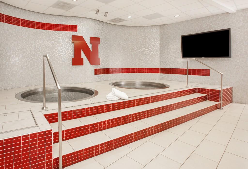 Hydotherapy spa at Univeristy of Nebraska