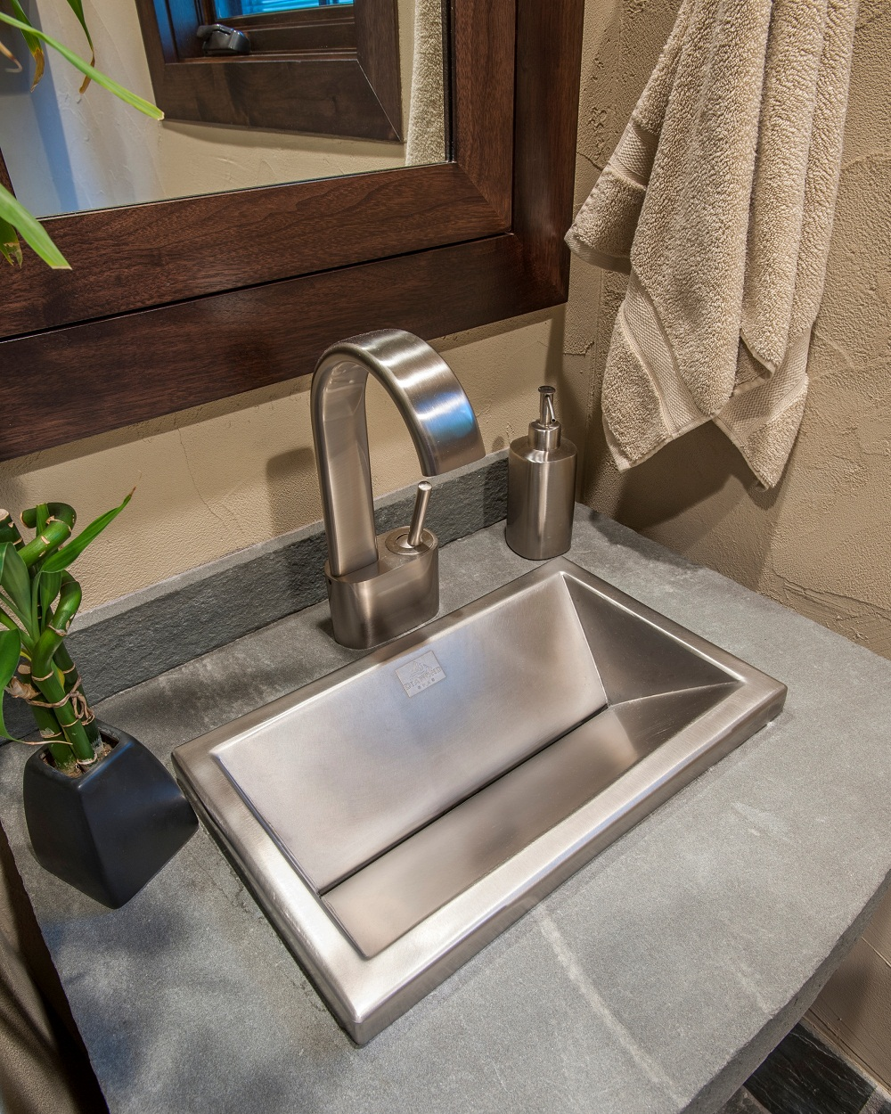 Stainless Steel Self Custom Sink 10 X16 X5