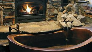 Custom Baths Stainless Steel Copper Bathtubs Diamond Spas
