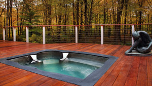 Stainless Steel Spas & Hot Tubs