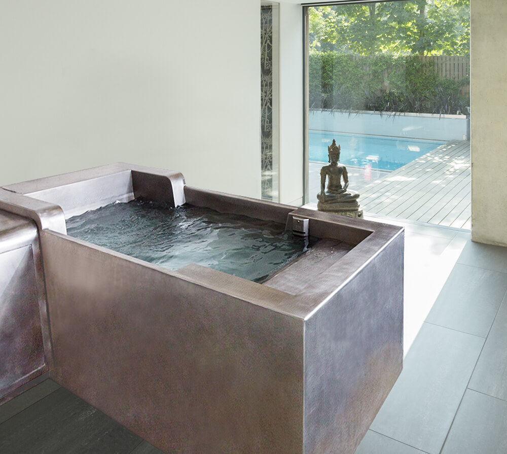 Cold Plunge Pool - Cold Tub & Spa - Diamond Spas | Diamond Spas