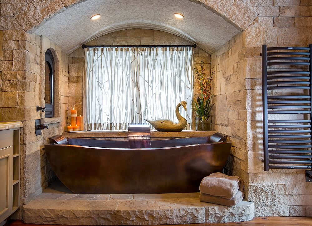 freestanding soaking tub for two. Freestanding Copper Tub with Dark Patina Finish  Fabricated Custom Head Rests on Each Side Two Person Soaking Bathtub Rectangular Diamond Spas