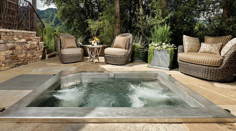 outdoor hot tub pre image collections