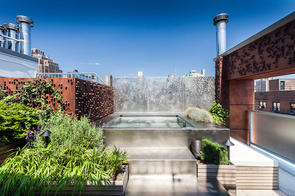 Rooftop Pools & Spas - Pool Construction   Diamond Spas