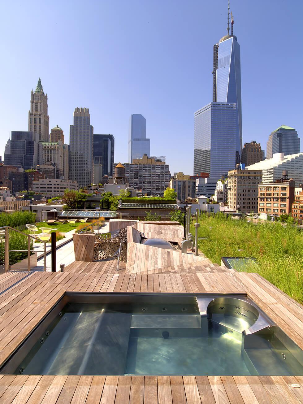 Website Stainless Steel Rooftop Spa