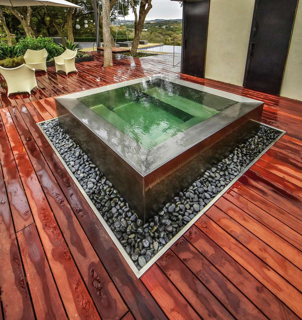 Stainless Spa - Stainless Steel Hot Tub -Luxury Spas | Diamond Spas