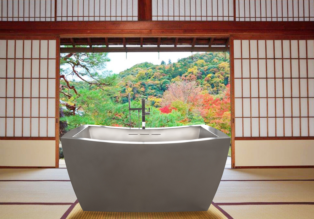 japanese soaking tub for two. Two Person Japanese Soaking Tub with Custom Overflow 42  x 72 Tubs Baths Outdoor