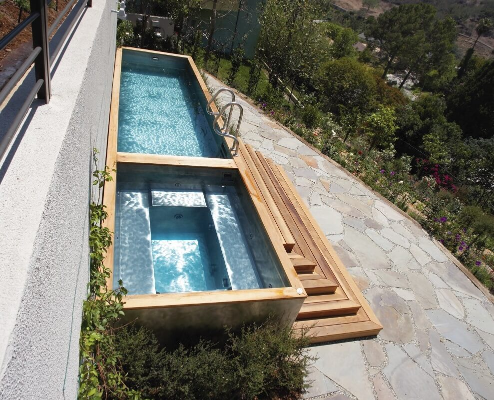 Stainless Steel Swimming Pools - Diamond Spas | Diamond Spas