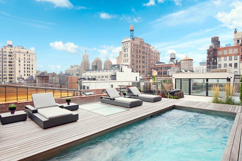 Rooftop Pools & Spas - Pool Construction | Diamond Spas